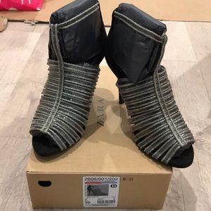 Zara heels size 8 or 39euro, new